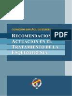 Consenso español pára el tratamiento de la esquizofrenia - copia