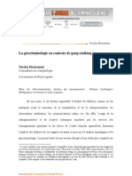 La géocriminologie en contexte de gang-stalking, Nicolas Desurmont ,Consultant en criminologie