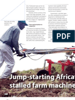 IRRI AR 2011 - Jump-starting Africa's Stalled Farm Machines
