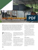 IRRI AR 2011 - Lean, Mean Drying Machine