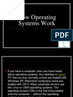 How Operating Systems Work