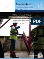 Offshore Renewables Protocol - Annual Report 2011-2012
