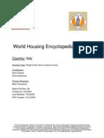 World Housing Encylopedia Italy