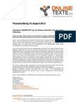 Textangentur ONLINETEXTE.com aus Beckum präsentiert sich mit neuem Onlineshop