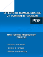 Effects of Climate Change on Tourism in Pakistan