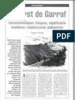 El carst de Garraf. Característiques físiques, significació evolutiva i implicacions ambientals