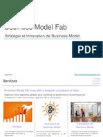 Plaquette présentation Business Model Fab