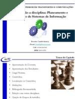 Aula 01 - Capitulo 01 - Planeamento e Desenho de Sistemas de Informação - Introdução a Cadeira