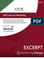 2012 Inbound Marketing Handbook EXCERPT