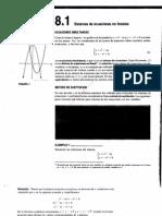 0f1cap 8 Sistemas de Ecuaciones Lineales