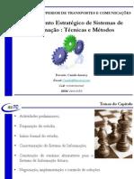 Aula 03 - Capitulo 02 - PDSI - Aula 02 - Planeamento Estratégico - Técnicas e Métodos