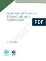 en.lighten, Draft Regional Report on Efficient Lighting in Southeast Asia, 11-2011