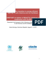 en.lighten, Report on the transition to energy efficient lighting in Latin America and the Caribbean , 8-2011