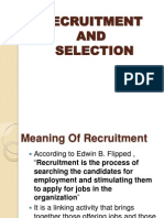 Recruitment and Selection (2)