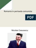 Romania in Perioada Comunista