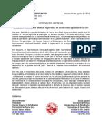 """Estudiantes califican de """"nefasta"""" la permuta de los terrenos agrícolas de la UPR"""