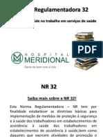 NR 32 - em elaboração