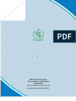 National Tourism Policy 1990