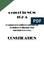 Report in Ncm 102 Constipation