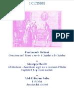 Galiani Baretti Salza - i Cicisbei