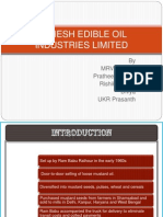 Mahesh Edible Oil Industries Limited