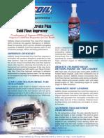 AMSOIL Diesel Concentrate Plus Cold Flow Improver - Diesel Fuel Treatment