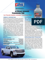 AMSOIL Synthetic Fuel Efficient Automatic Transmission Fluid - ATL