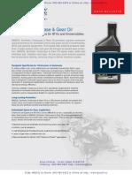TCC - AMSOIL Synthetic Chaincase & Gear Oil