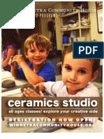 Ceramics at WCH Fall 2012
