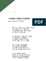 Esprit 4-2-193301 - Pouey, Fernand - L'Ange Sous Cloche