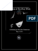 Cauldron of The Gray Witch Anniversary  Issue