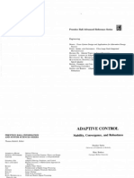 Adaptive Control, Sastry and Bodson