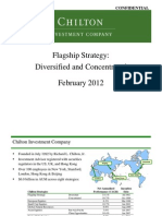 Chilton Flagship Strategies - Presentation -February 2012