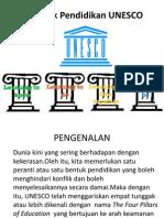 Tonggak Pendidikan UNESCO Presentation