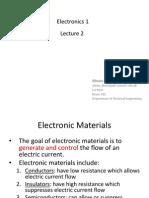 Electronics Lect2