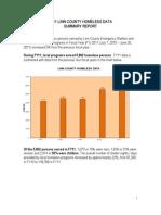 Fy11 Linn County Homeless Data Report