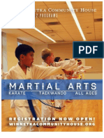 Martial Arts at WCH Fall 2012