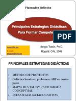 Estrategias. Sergio Tobón