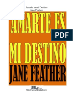 7197239 Jane Feather Amarte Es Mi Destino