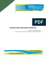 MIGUELDEZUBIRIA Pedagogia Conceptual