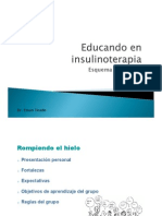 Educando en insulinoterapia