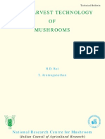 Value Addition of Mushrooms