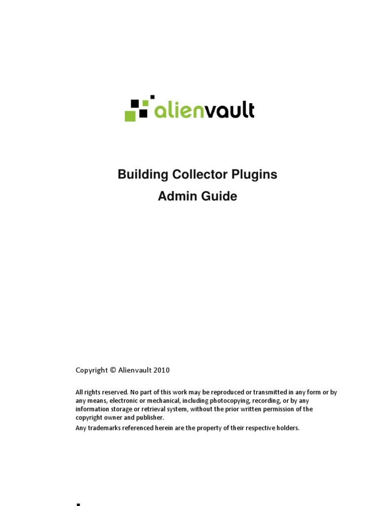 AlienVault Building Collector Plugins   Port (Computer Networking