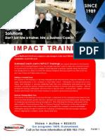 IMPACT Trainings