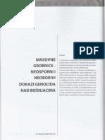 Masovne grobnice - neosporni i neoborivi dokazi genocida nad Bošnjacima (dr. Rasim Muratović)
