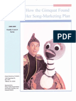 How the Gimquat Found Her Song - Marketing Plan