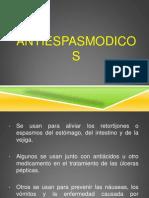 Farmacos Antiespasmodicos (Erika Ronquillo)