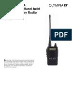 Olympia P324 User Guide KEM-PK28201 08-07-08