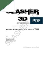 Slasher 3d Casting - Matt - Supporting 1