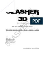 Slasher 3d Casting -  Nick - Supporting 2